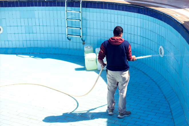tile cleaning corby gould pools